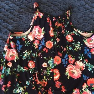 First Love Tops - First Love Floral Blouse 2x